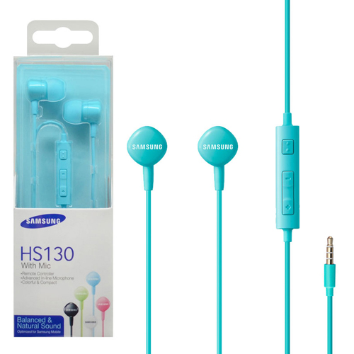 Samsung Headset with Remote Controller 藍色