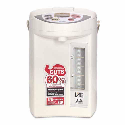ZOJIRUSHI 3L 電熱水瓶 GJE-CV-CSQ30-CL