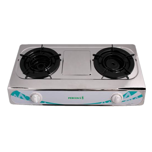 PERCEN 石油氣-雙頭座檯煮食爐 CRT-1002