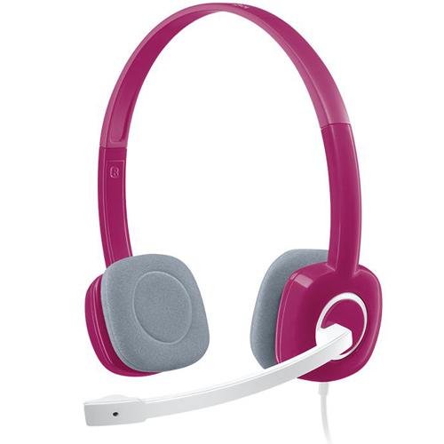 Logitech Headset-AP H150 Fuchsia Pink