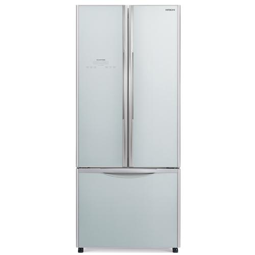 HITACHI 455L三門對門式雪櫃 R-WB550P2H/GS-銀玻璃