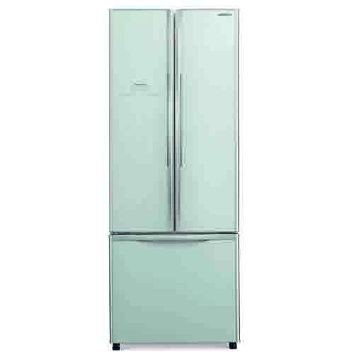 HITACHI 405L三門對門式雪櫃 R-WB480P2H/GS-銀玻璃
