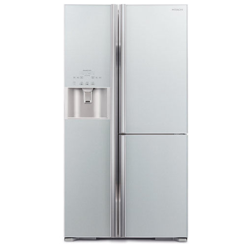 HITACHI 584L三門對門式雪櫃 R-M700GP2H/GS-銀玻璃