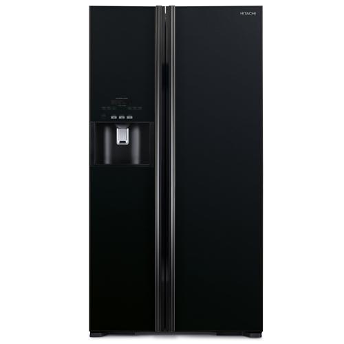 HITACHI 589L雙門對門式雪櫃 R-S700GP2HGBK黑玻璃