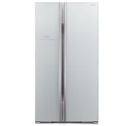 HITACHI 605L雙門對門式雪櫃 R-S700P2H/GS-銀玻璃