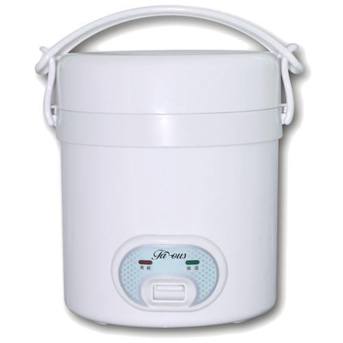 FAMOUS [P]0.3L迷你西施電飯煲 FR-08/白色