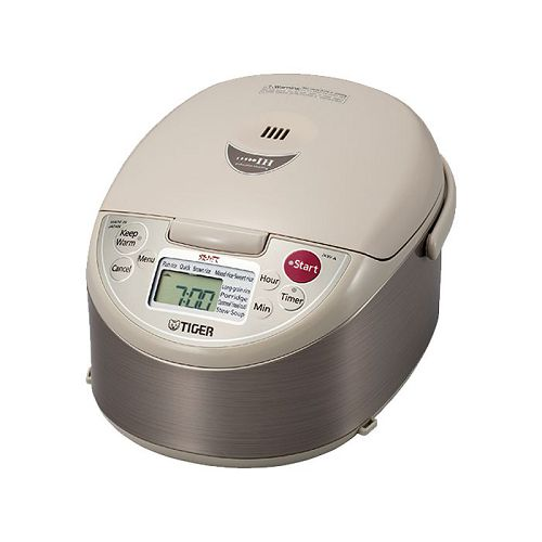 TIGER 1.0L IH磁應導熱電飯煲 JKW-A10S-2 銀