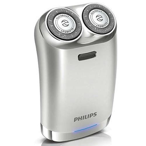 PHILIPS 充電雙頭鬚刨 HS198 銀色