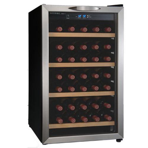 VINTEC 電子式自動恆溫酒櫃-30瓶 V30SGE/S