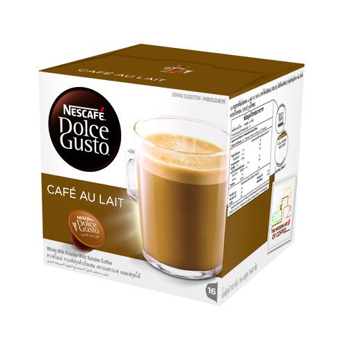 NESCAFE 牛奶咖啡膠囊 CAFE AU LAIT