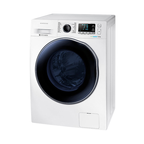 SAMSUNG [中/i]8/6KG洗乾衣機 WD80J6410AW 白色