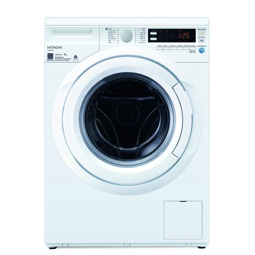 HITACHI 8KG前置式洗衣機 BDW80WV-WH 白