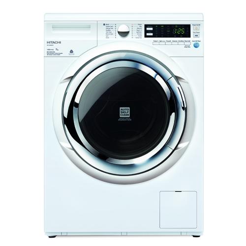HITACHI 9KG前置式洗衣機 BDW90XWV-WH 白