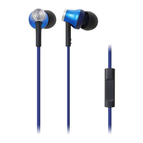 audio-tech Mobile In-Earphone 藍 ATH-CK330iS BL