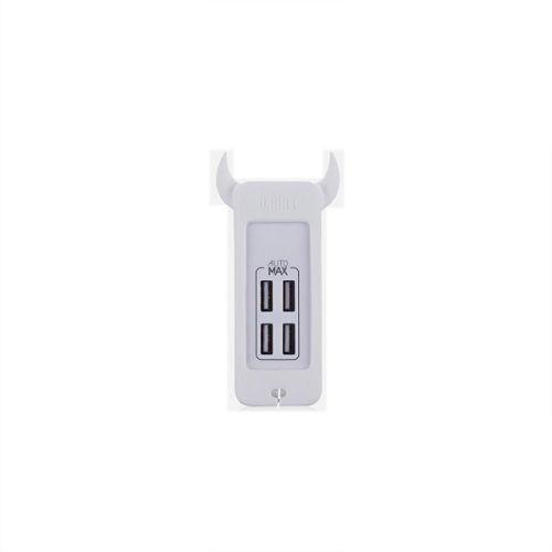 MOMAX U.Bull 4 USB 數碼充電器 白