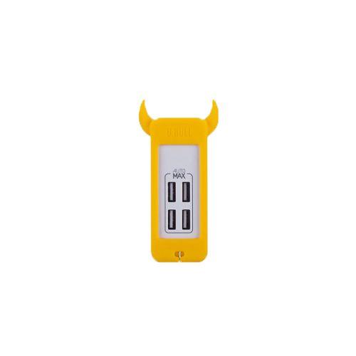 MOMAX U.Bull 4 USB 數碼充電器 黃