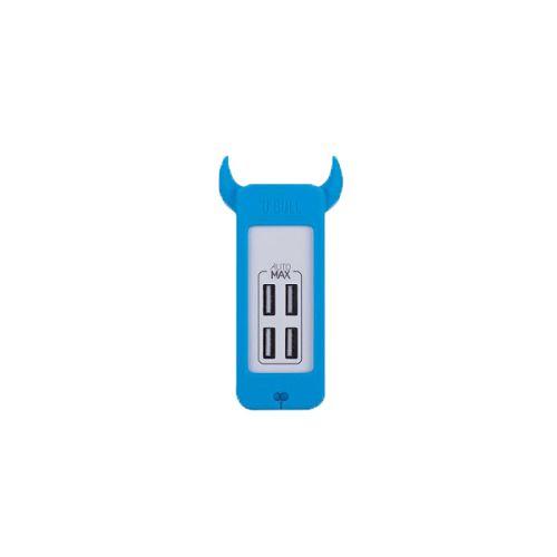 MOMAX U.Bull 4 USB 數碼充電器 藍