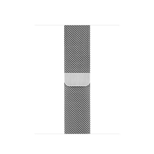 APPLE 38mm Silver Milanese Loop