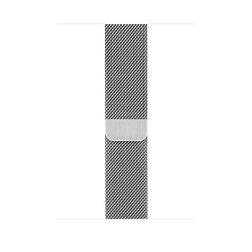 APPLE 42mm Silver Milanese Loop