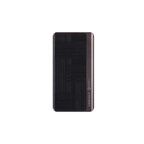MOMAX iPower Elite+ 8000mAh 流動電源QC2.0 壓紋黑色