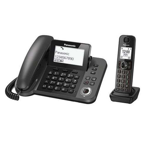 PANASONIC 子母機無線電話 KX-TGF320HK黑