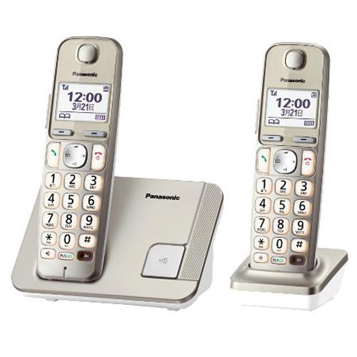 PANASONIC 雙機無線電話 KX-TGE212HKN香濱金