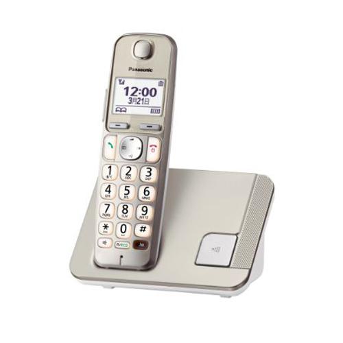 PANASONIC 數碼無線電話 KX-TGE210HKN香濱金