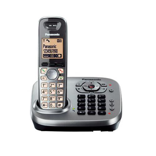 PANASONIC 數碼無線電話 KX-TG6561EM金屬灰