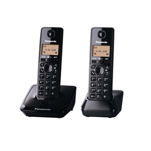 PANASONIC 雙機無線電話 KX-TG2712HKB黑