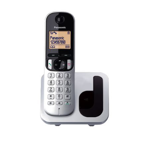 PANASONIC 數碼無線電話 KX-TGC210HK銀
