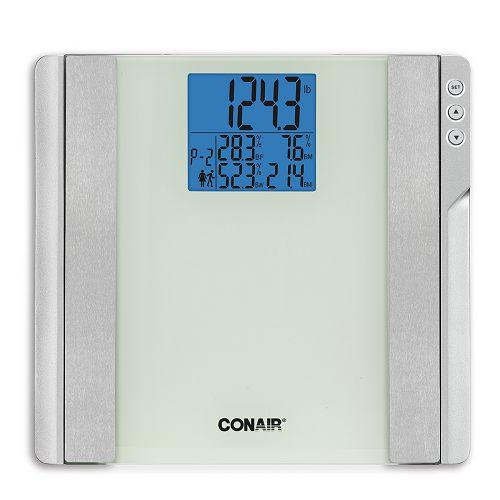 CONAIR 体重分析玻璃電子磅 C721H