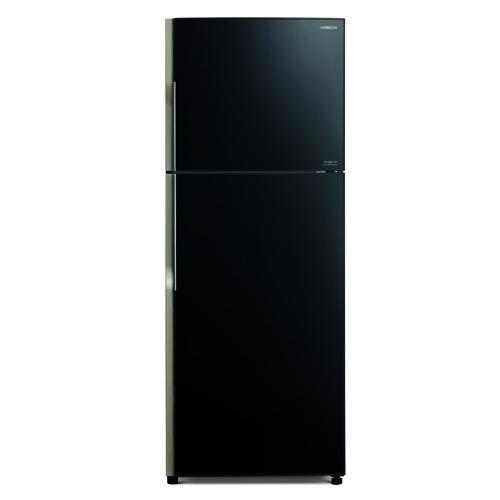 HITACHI 391L雙門雪櫃 RVG481P3H/GBK-黑玻璃