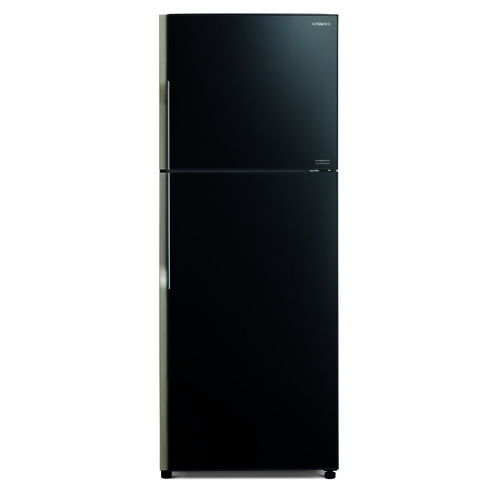 HITACHI 359L雙門雪櫃 RVG441P3H/GBK-黑玻璃