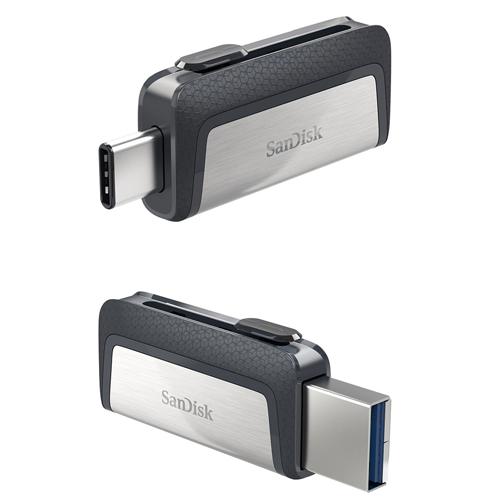 SanDisk MicroSD DUAL USB Drive 32GB OTG SDDDC-032G-G46