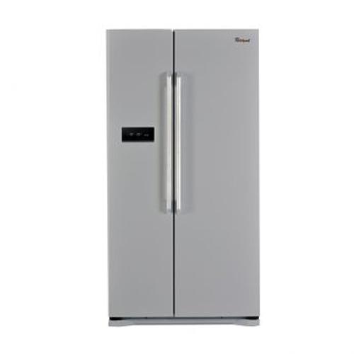 WHIRLPOOL 570L對門雪櫃 WSX621MS 亮銀色