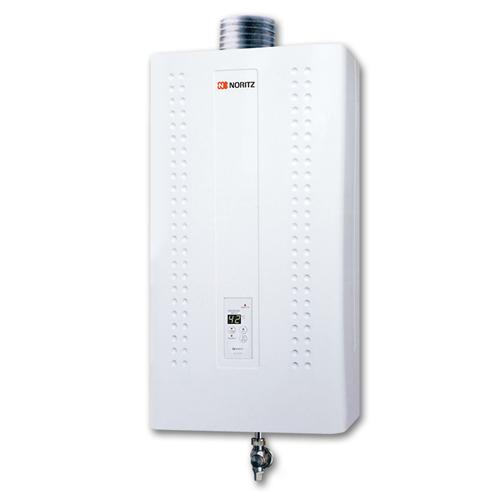 NORITZ 石油氣-16L頂排式熱水爐 GQ1660FFA