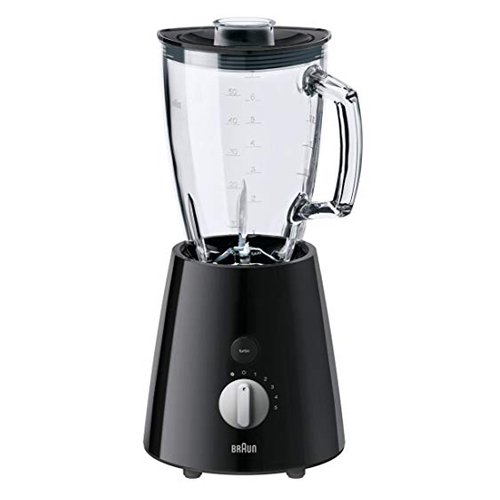 BRAUN 1.75升玻璃攪拌器 JB3060 黑