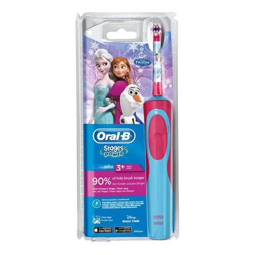 BRAUN 兒童充電電動牙刷D12K D12.513K/冰雪奇緣
