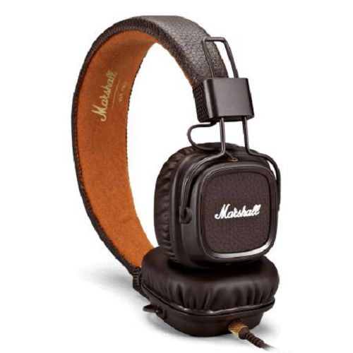 Marshall MAJOR II Headphone Brown
