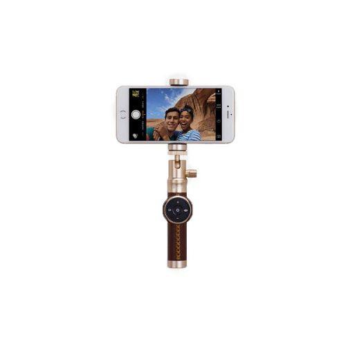 MOMAX ^Selfie PRO 藍牙遙控自拍器 金色 KMS3