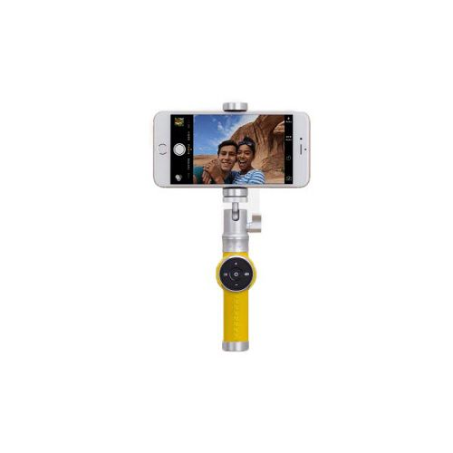 MOMAX Selfie PRO 藍牙遙控自拍器 銀色 KMS3