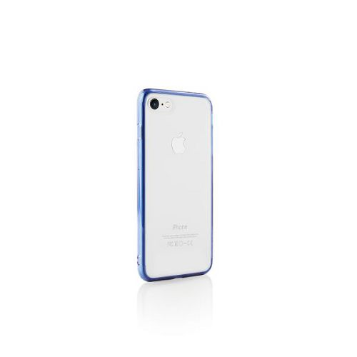 ODOYO iPhone8/7 Clear Edge Case 藍