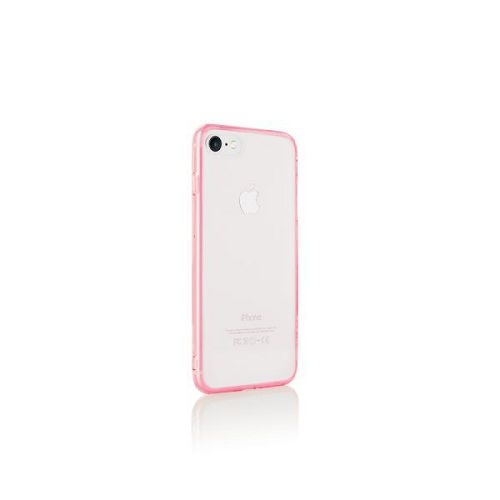 ODOYO iPhone8/7 Clear Edge Case 粉