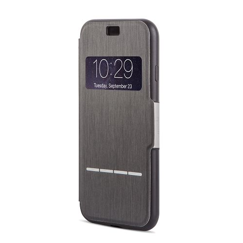moshi SenseCover for iPhone 8/7 Charcoal Black