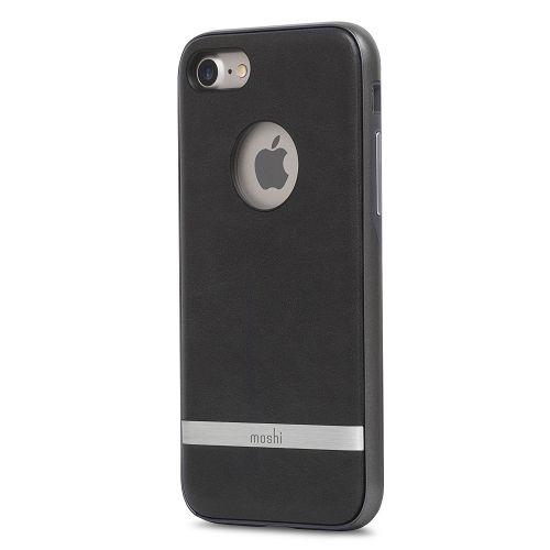 moshi iGlaze Napa for iPhone 8/7 Charcoal Black