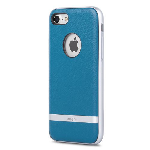 moshi iGlaze Napa for iPhone 8/7 Marine Blue