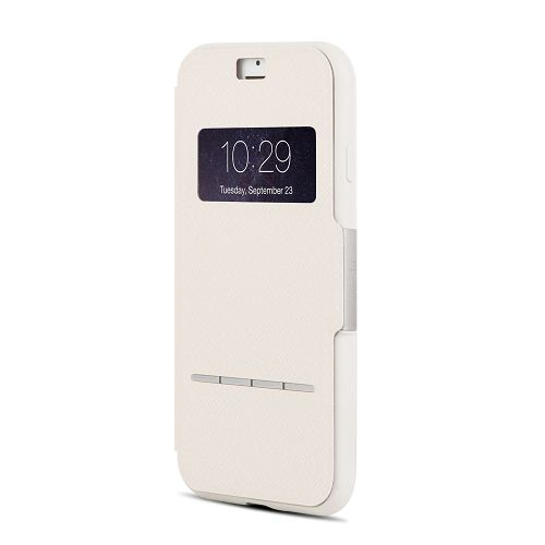 moshi SenseCover for iPhone 8/7 Plus Stone White