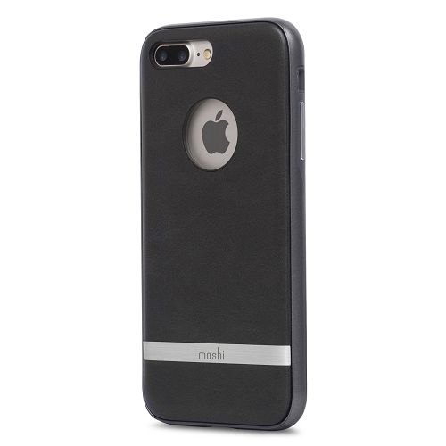 moshi iGlaze Napa for iPhone 8/7 Plus Charcoal Black
