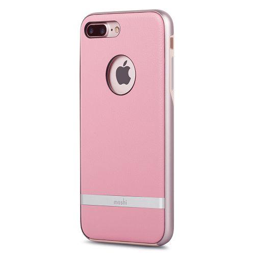 moshi iGlaze Napa for iPhone 8/7 Plus Melrose Pink
