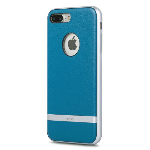 moshi iGlaze Napa for iPhone 8/7 Plus Marine Blue